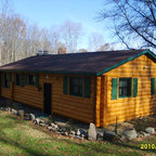 Sleepy Hollow River House Rustic Exterior Other