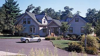 Log Home in Massachusetts