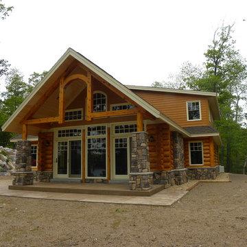 Log Sided Homes