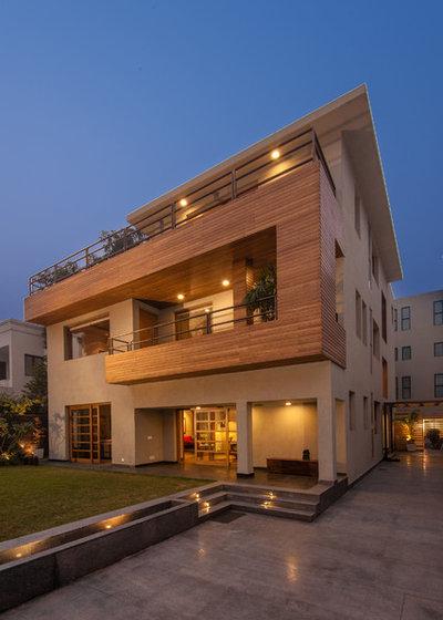 Contemporary Exterior by Chromed Design Studio