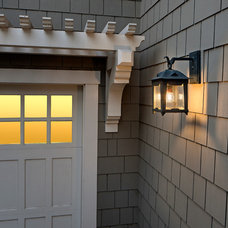 Craftsman Exterior by DLG Lighting Co