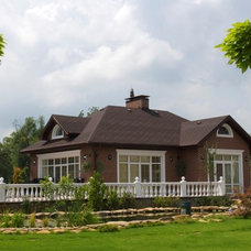 Traditional Exterior by Lompier Interior Group