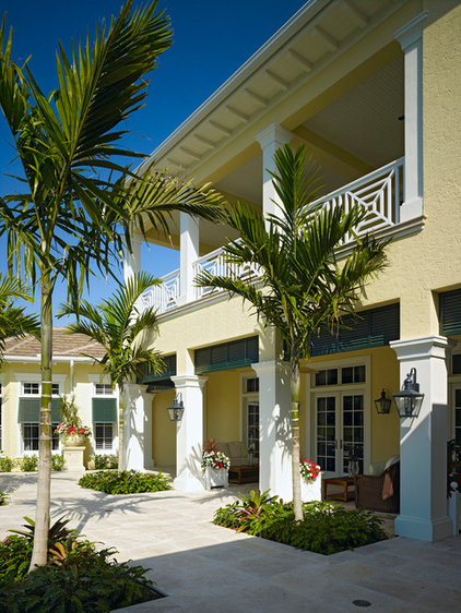 Tropical Exterior by London Bay Homes