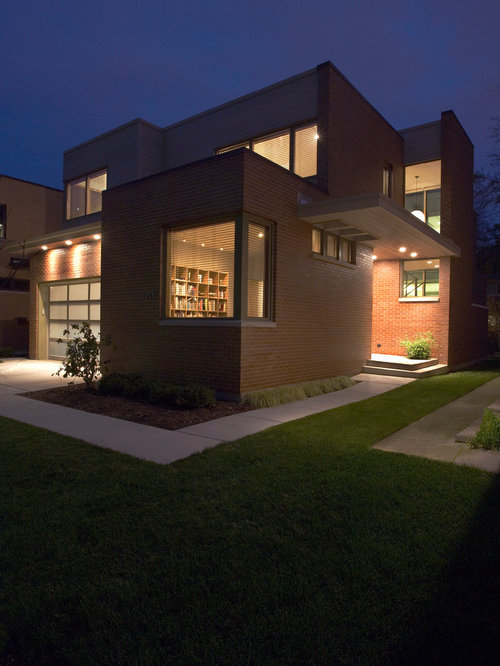 Modern Exterior Home Design Ideas Remodels Photos: Modern Chicago Exterior Home Design Ideas, Remodels & Photos
