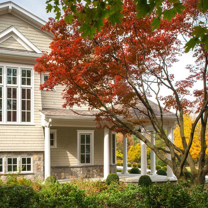 Private Hampton Style Home