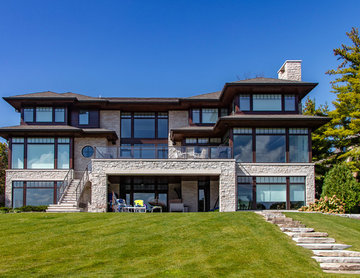 Long Lake Shores Drive | 2018 Detroit Home Design Award Winner