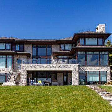 Long Lake Shores Drive | 2018 Detroit Home Design Award Winner