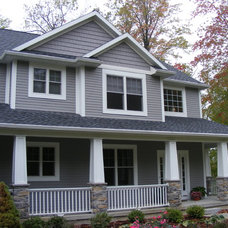 Traditional Exterior by Advanced Homes of West Michigan