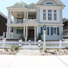 Beach Style Exterior by Anthony Charles Homes, Inc.