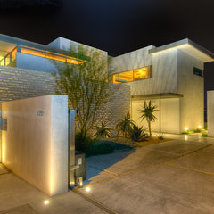 modern exterior by Bertram Architects