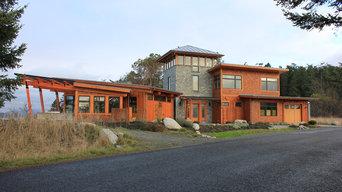 Lopez Island Custom Home