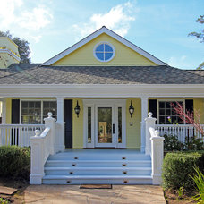 Traditional Exterior by Pete Moffat Construction