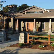 Craftsman Exterior by James Crist Builders, Inc.