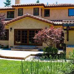 mediterranean exterior by Jemstone Construction