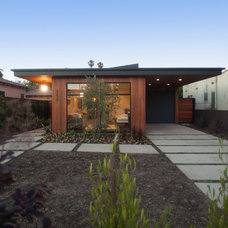 Midcentury Exterior by Modern Mecca™ | Los Angeles Home Staging