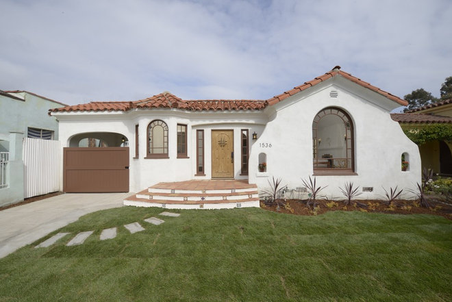 Mediterranean Exterior by ArtCraft Homes LLC