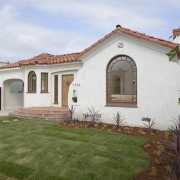 Los Angeles Spanish bungalow remodel