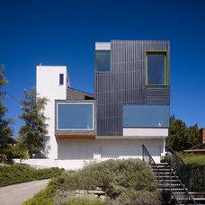 Contemporary Exterior by Warren Techentin Architecture