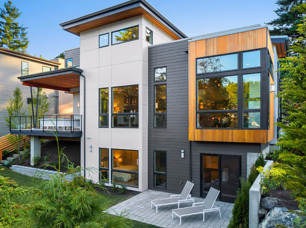 Contemporary Exterior by Summerwell Homes