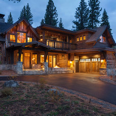 Rustic Exterior by Lot C Architecture