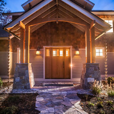Craftsman Entry by Capital Construction Inc
