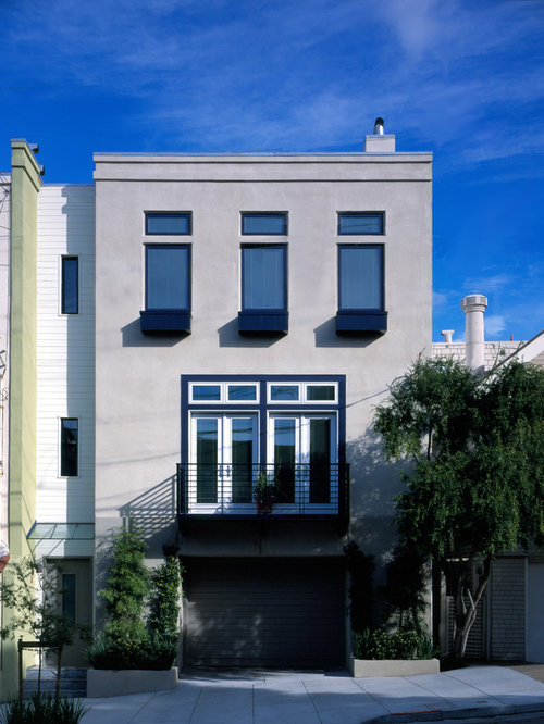 Modern Stucco Houzz
