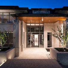 Contemporary Exterior by Cambuild