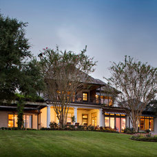 Traditional Exterior by Ourso Designs