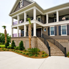 traditional exterior by Artistic Design and Construction, Inc