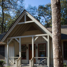 Rustic Exterior by Wayne Windham Architect, P.A.