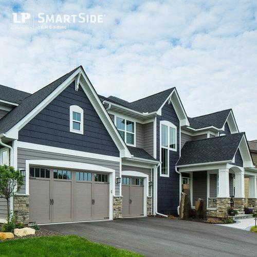 One Car Garage With Lap Siding 69471am: Lp Smartside