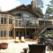 Traditional Exterior by Waldmann Construction