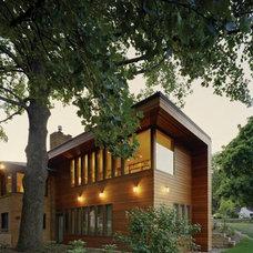 Modern Exterior by Lewis.Tsurumaki.Lewis Architects