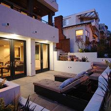 Contemporary Exterior by LuAnn Development, Inc.