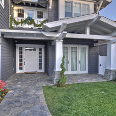Traditional Exterior by LuAnn Development, Inc.