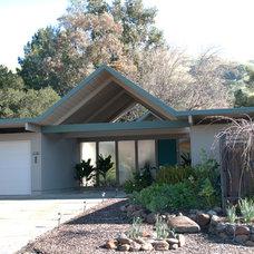 Modern Exterior Lucas Valley Eichlers