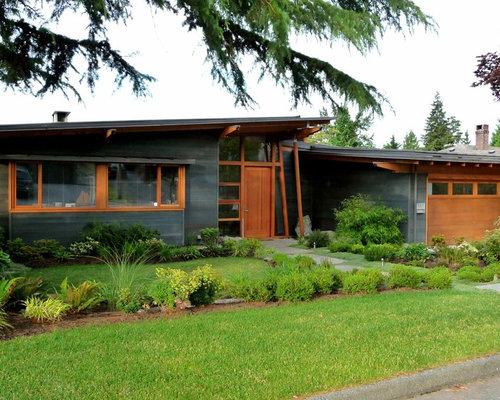 Dark Gray Exterior Trim Home Design Ideas Renovations
