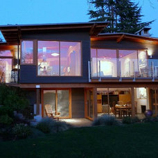 Modern Exterior by James Paul Architect