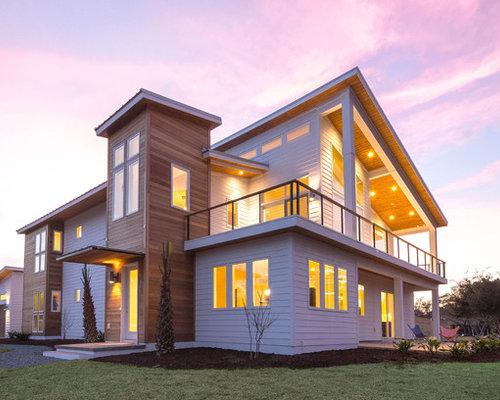 Foto e idee per arredare casa moderna wilmington for Piani di casa in stile ranch con cantina