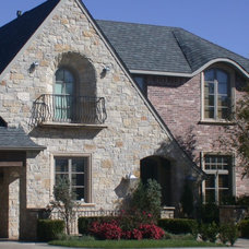 Traditional Exterior by Richburg Stone Supply