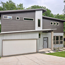 Modern Exterior by C. L. Fry Creative