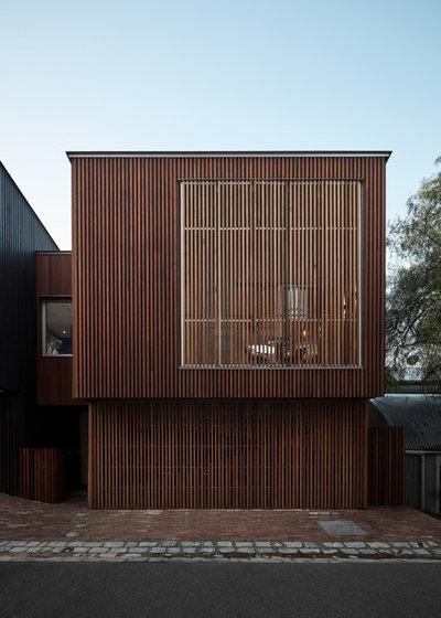 コンテンポラリー 家の外観 by Melbourne Design Studios (MDS)