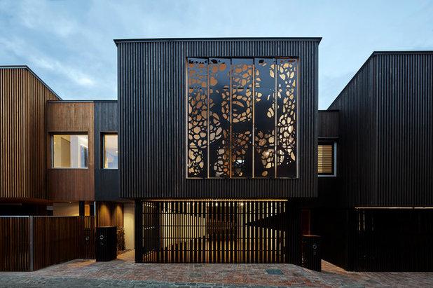 Contemporary Exterior by Melbourne Design Studios (MDS)