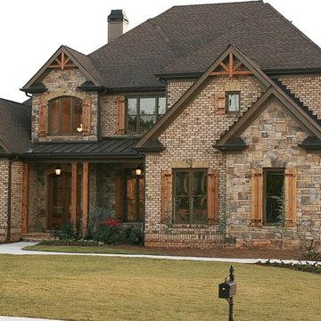Luxury European Style Homes
