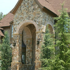 Traditional Exterior by Alex Custom Homes, LLC
