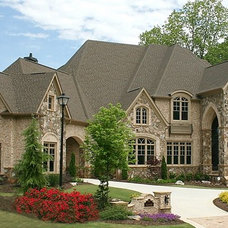 Transitional Exterior by Alex Custom Homes, LLC