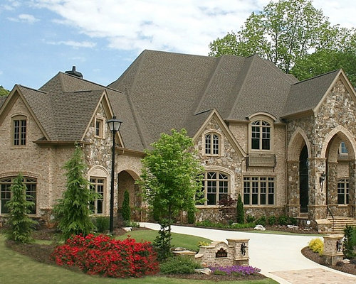 European style home pictures