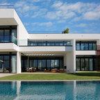 Exterior Horizontal Balustrade Modern Exterior Salt