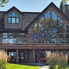 Traditional Exterior by JayWest Country Homes