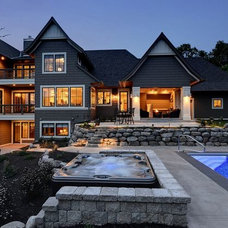 Traditional Exterior by Grace Hill Design